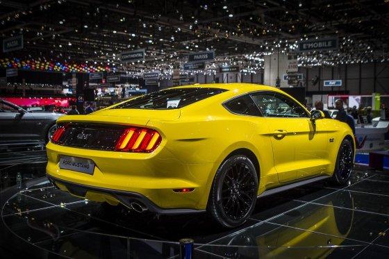 "Irmanto Gelūno/15min.lt nuotr./""Ford Mustang"""