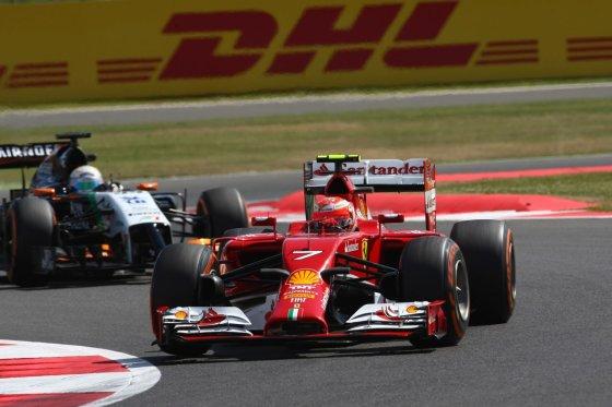 """""""Scanpix"""" nuotr./""""Formulės-1"""" penktadienio treniruotės Silverstone"""