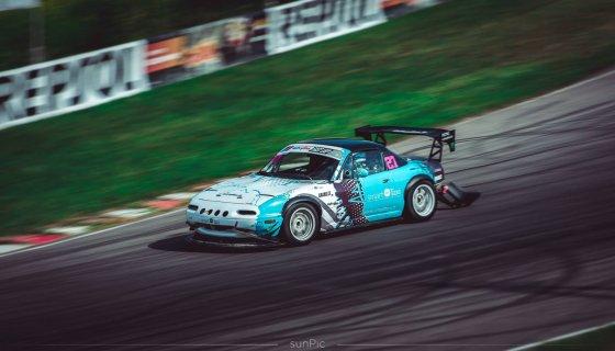 "Ryčio Petrausko nuotr./""Mazda Miata"" trasoje"