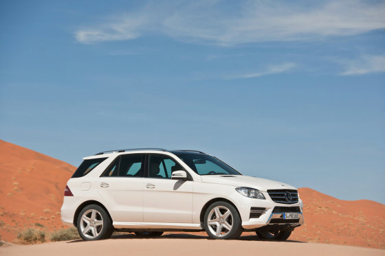 "Gamintojo nuotr./""Mercedes-Benz ML"""
