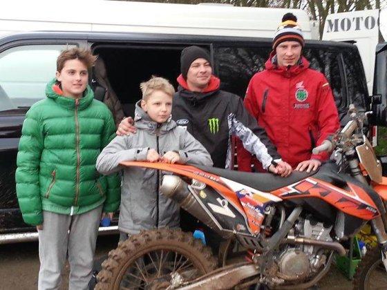 Komandos nuotr./Motokroso varžybos Olandijoje