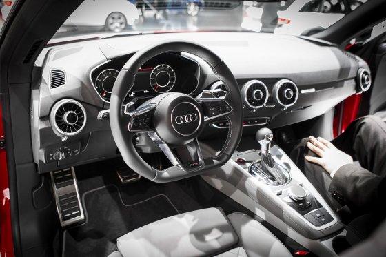 "Irmanto Gelūno/15min.lt nuotr./Naujoji ""Audi TT"" Ženevoje"