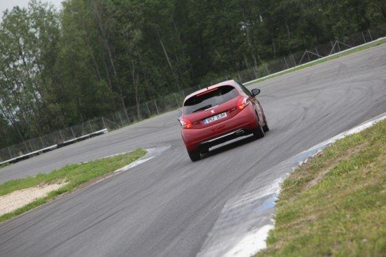 "Indrek Susi nuotr./""Peugeot 208 GTi"""