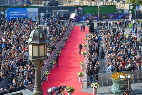 """Andress Putting (EBU) nuotr./""""Eurovizijos"""" atidarymo ceremonija"""
