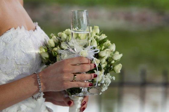 TV3 nuotr./Vestuvių akimirka