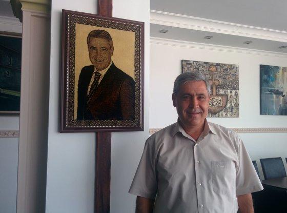 Liepos Želnienės nuotr./Dalamano meras Muhammetas Šašmanas
