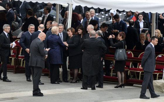 Roberto Dačkaus/Prezidentūra nuotr./Dalia Grybauskaitė Vatikane