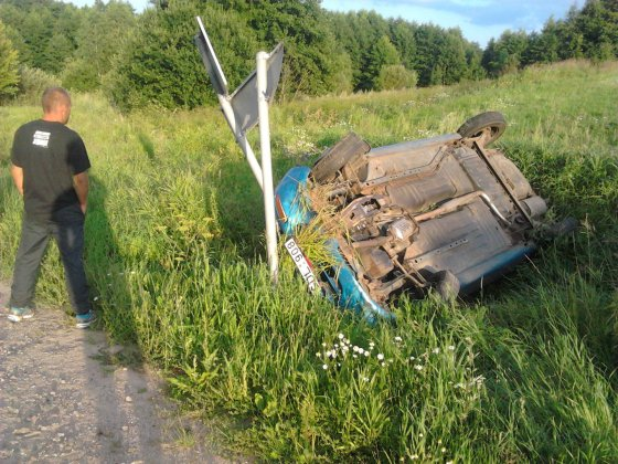 Mykolo Norkaus nuotr./Girtas vairuotojas sukėlė avariją kelyje Simnas-Krosna