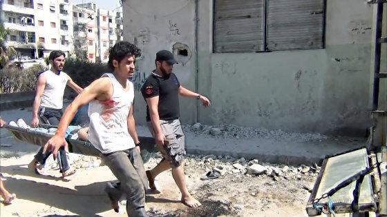 """""""Sugrįžimas i Homsą"""" stopkadras"""