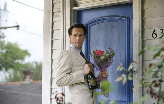 "Kadras iš filmo/""Myliu tave, Filipai Morisai!"" (""I Love You Phillip Morris"", 2009, IMDb – 6,7)"