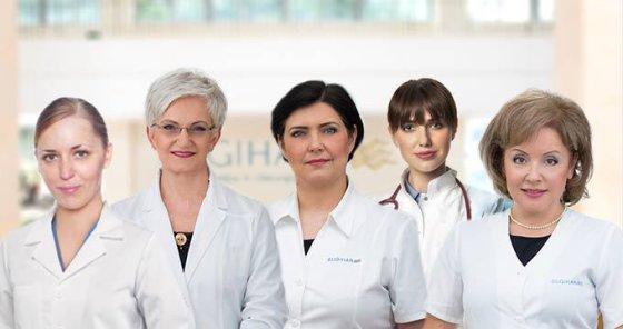 """""""Sugihara"""" nuotr./Iš kairės: Tatjana Orlovskytė, Jolanta Žilienė, Eglė Drukteinienė, Aušrinė Ramanauskaitė ir Gitana Šabūnienė"""
