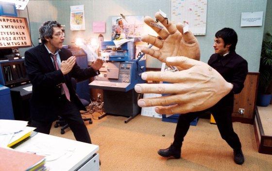 """Kadras iš filmo/""""Miego mokslas"""" (""""La science des rêves"""", 2006, IMDb – 7,4)"""