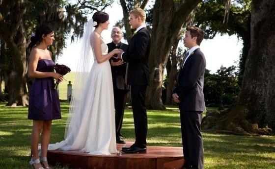 """Kadras iš filmo/""""Meilė, vedybos, šeimyninis gyvenimas"""" (""""Love, Wedding, Marriage"""", 2012)"""
