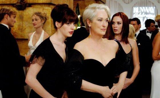 """Kadras iš filmo/""""Ir velnias dėvi Prada"""" (""""The Devil Wears Prada"""", 2006, IMDb – 6,8)"""