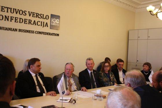 LVK nuotr./V.Landsbergio susitikimas su verslininkais