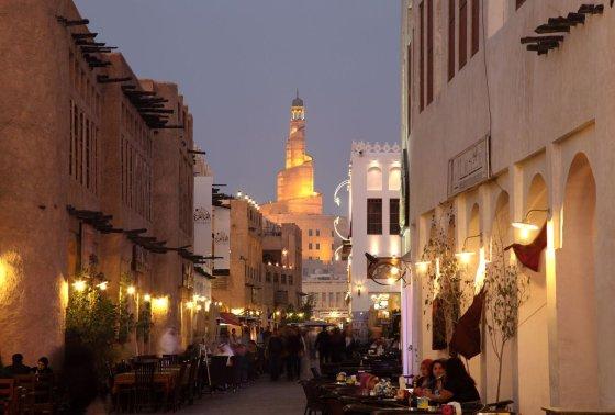 123rf.com nuotr./Dohos gatvės