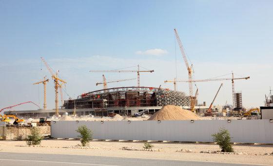 123rf.com nuotr./Statomi stadionai Dohoje