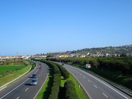 Wikimedia.org nuotr./Greitkelis iš Mesinos į Palermą