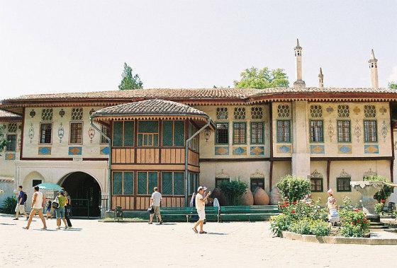 wikimedia.org nuotr./Totorių Chano rūmai