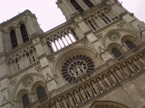 R.Trukanavičiūtės nuotr./Dievo Motinos katedra Paryžiuje