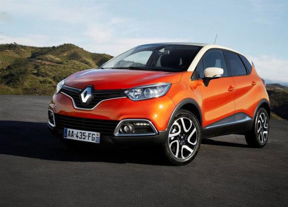"""""""Renault """" nuotr./""""Renault Captur"""""""