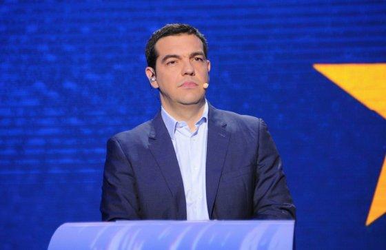 """""""Scanpix"""" nuotr./Graikijos kairiųjų radikalų atstovas Alexis Tsipras"""