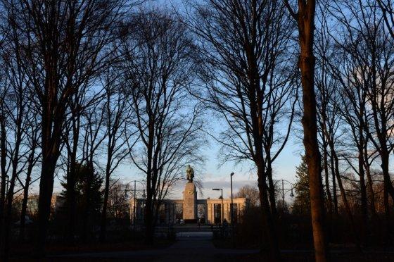 "AFP/""Scanpix"" nuotr./SSRS Antrojo pasaulinio karo memorialas Berlyne"