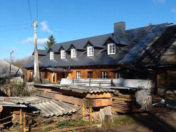 Mikniškės – Michnovas, restauruojamas namas