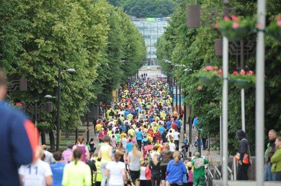 Artiomo Ištuganovo nuotr./Kauno maratonas'14: tobulas oras geriems rezultatams