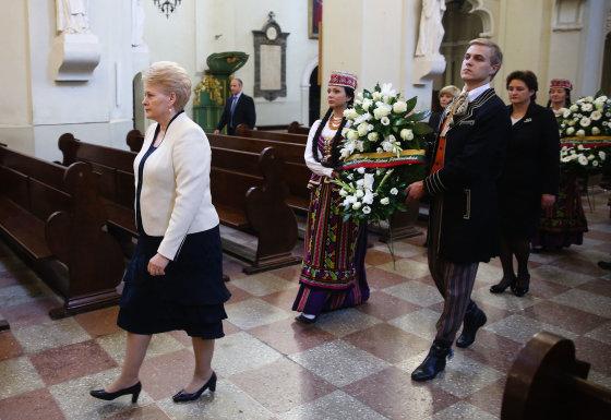 Luko Balandžio/Žmonės.lt nuotr./Dalia Grybauskaitė