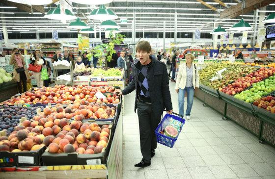 Luko Balandžio/Žmonės.lt nuotr./Bohemiečių akcija prekybos centre