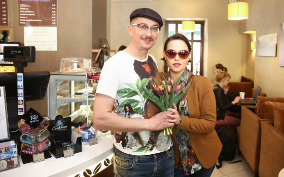 Luko Balandžio/Žmonės.lt nuotr./Aleksandras Pogrebnojus ir Justė Arlauskaitė-Jazzu