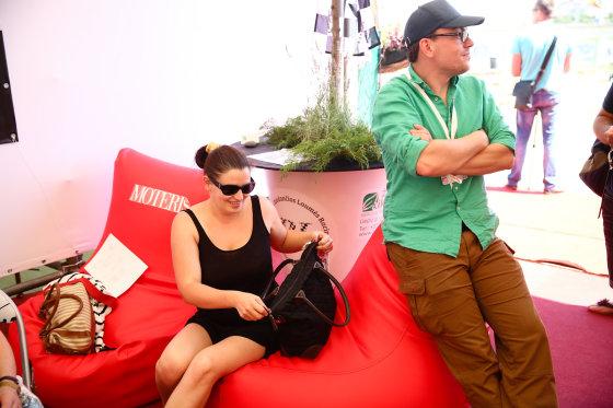 Žmones.lt nuotr./Renata Šakalytė su vyru