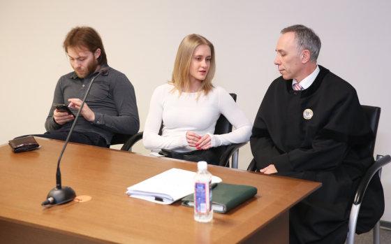 Luko Balandžio/Žmonės.lt nuotr./Teismo posėdis