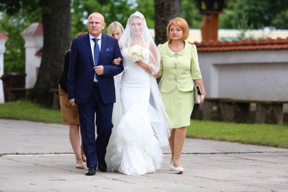 Luko Balandžio/Žmonės.lt nuotr./Vestuvių akimirka