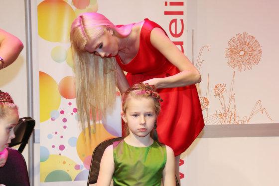 Teodoro Biliūno/Žmonės.lt nuotr./Inga Stumbrienė su dukra Estela