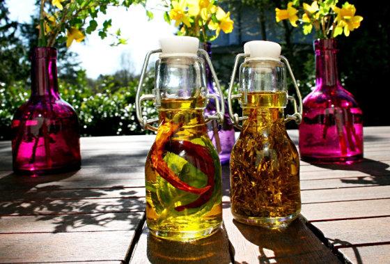 Viktorijos Ramašauskaitės nuotr./Aromatinis alyvuogių aliejus