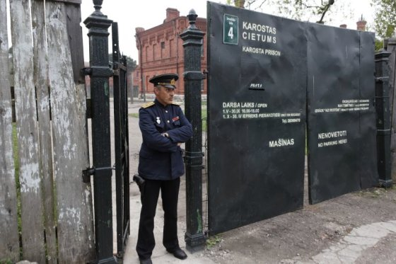 karosta.lv nuotr./Karuosčio kalėjimas Latvijoje