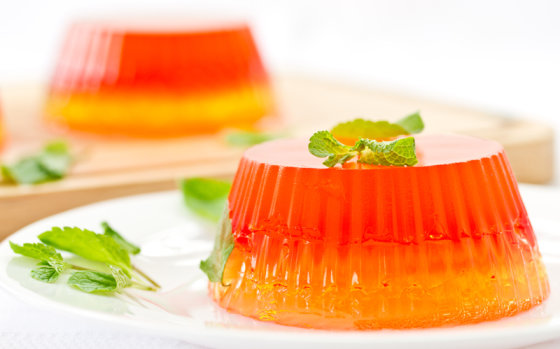 Shutterstock nuotr./Želė desertai