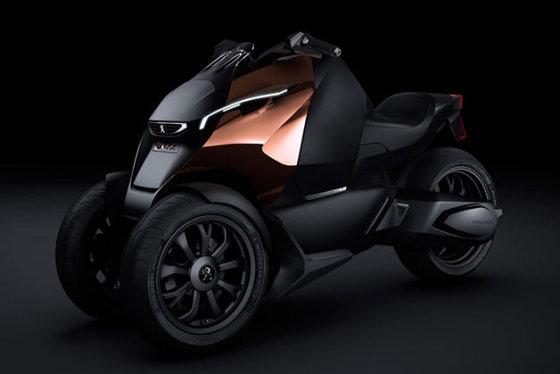 Gamintojo nuotr./Peugeot Onyx triratis motociklas