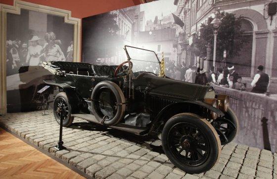 """""""Reuters""""/""""Scanpix"""" nuotr./Automobilis, kuriuo važiavo erchercogas Pranciškus Ferdinandas"""