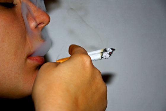 """V.Samarinaitės nuotr./""""Ar tikrai rūkymas man teikia malonumą? Taip. Manau, jei ne, tai nerūkyčiau."""""""