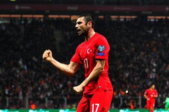 """AFP/""""Scanpix"""" nuotr./Burakas Yilmazas įmušė du įvarčius"""
