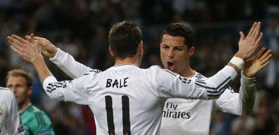 """Reuters""/""Scanpix"" nuotr./Garethas Bale'as ir Cristiano ronaldo"