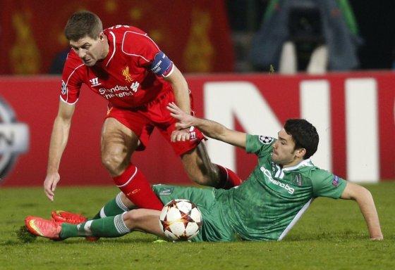 """Reuters""/""Scanpix"" nuotr./Stevenas Gerrardas ir Dani Abalo"