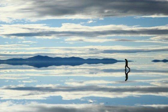 Fotolia nuotr./Druskų lyguma, Bolivija