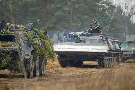 L.Ambrozevičiutės nuotr./Vokietijos kariuomenės kovos mašinos