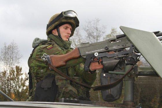 R. Albaičio nuotr./Birutės bataliono kariai