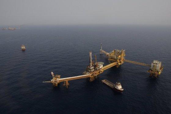"""""""Scanpix""""/AP nuotr./""""Pemex"""" naftos platforma"""