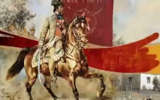 """""""YouTube"""" nuotr./Net Tadeuszas Kościuszko vadinamas Baltarusijos didvyriu."""